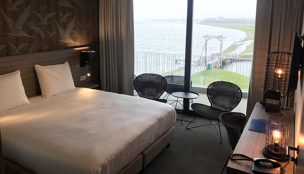 Hotelkamer in arnemuiden fletcher hotel restaurant het veerse meer